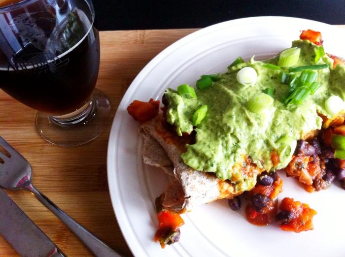 Enchiladas for Cinco de Mayo